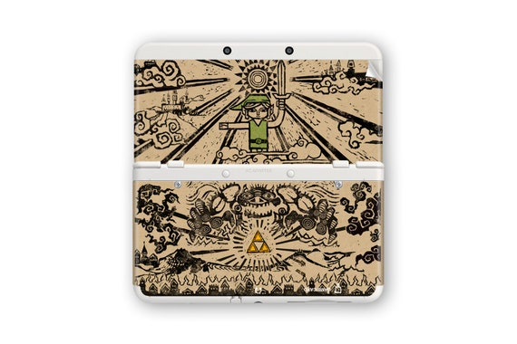 The Legend of Zelda: The Wind Waker Skin for New 3DS and New 3DS XL