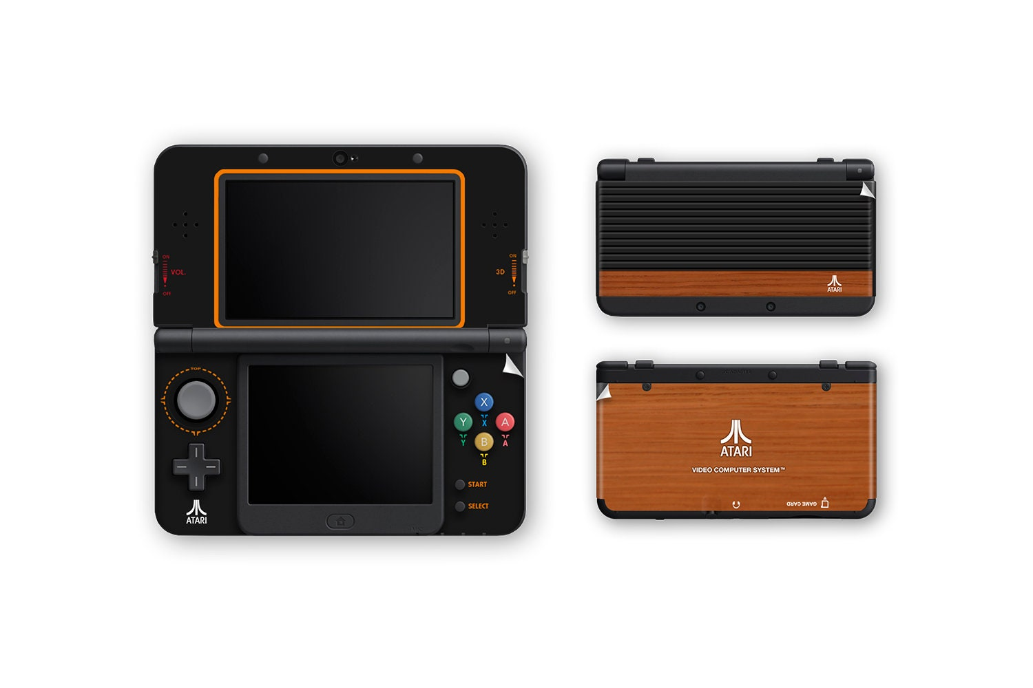 Atari 2600 New 3ds And New 3ds Xl Skin Etsy