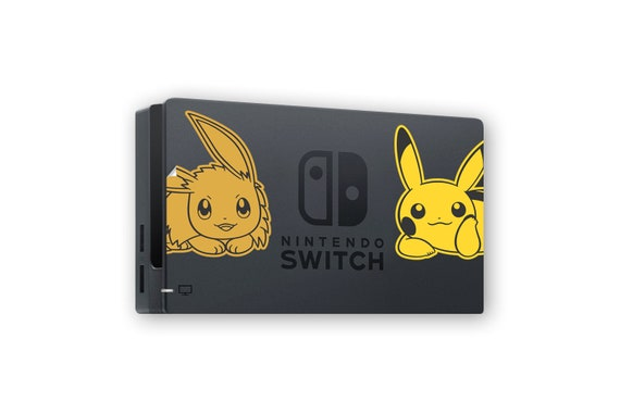 Pokémon Let's Go Pikachu & Eevee Nintendo Switch Stickers