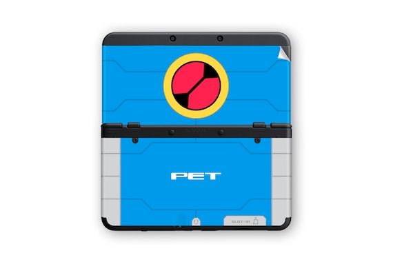 PET Personal Terminal (Mega Man) Skins for New 3DS and New 3DS XL