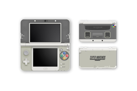 Super Nintendo New 3DS and New 3DS XL Skin