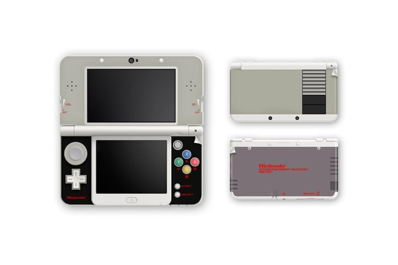 NES | Nintendo Entertainment System Skin for New 3DS and New 3DS XL