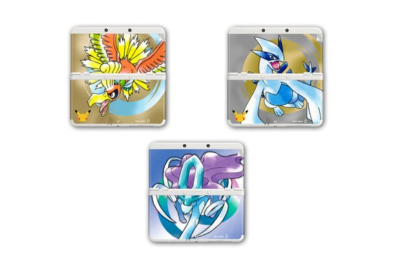 Pokémon Gold, Silver & Crystal Skin for New 3DS and New 3DS XL