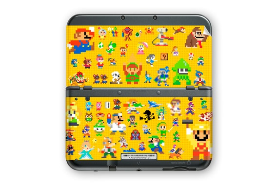 Super Mario Maker Skin for New 3DS XL