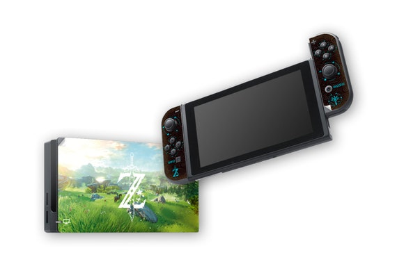 The Legend of Zelda: Breath of the Wild Skin for Nintendo Switch Dock and Joy-Con