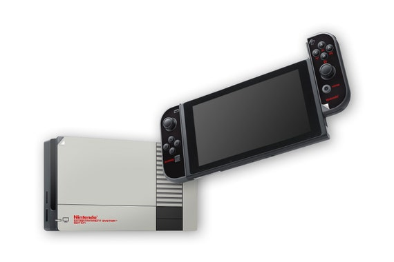 NES Switch Skins