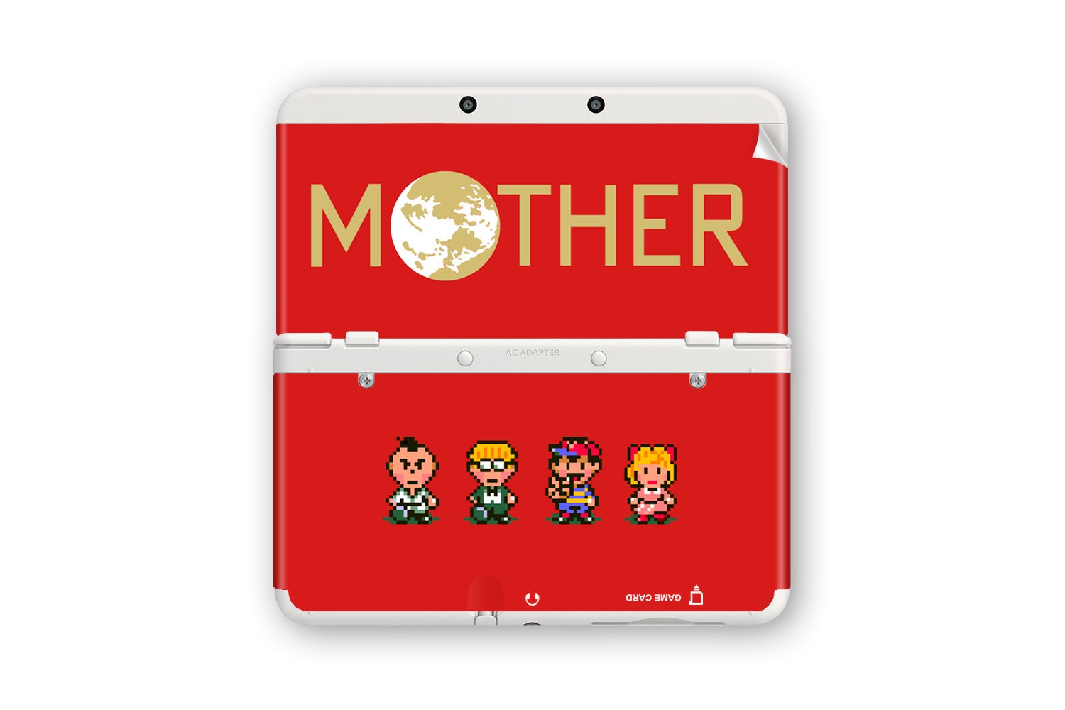 mother earthbound new 3ds and new 3ds xl skin etsy
