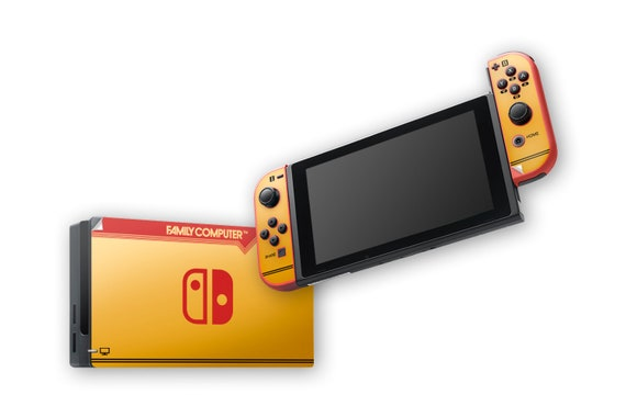 FAMICOM Nintendo Switch Skin