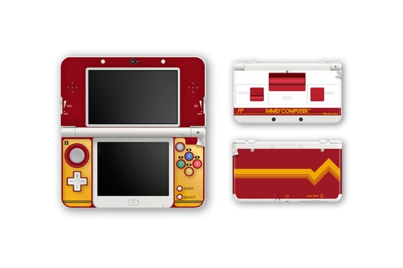 FAMICOM New 3DS and New 3DS XL Skin