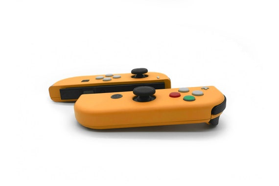 Nintendo GameCube Orange themed Joy-Con for Nintendo Switch