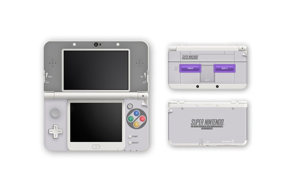 Super Nintendo | American SNES Skin for New 3DS and New 3DS XL