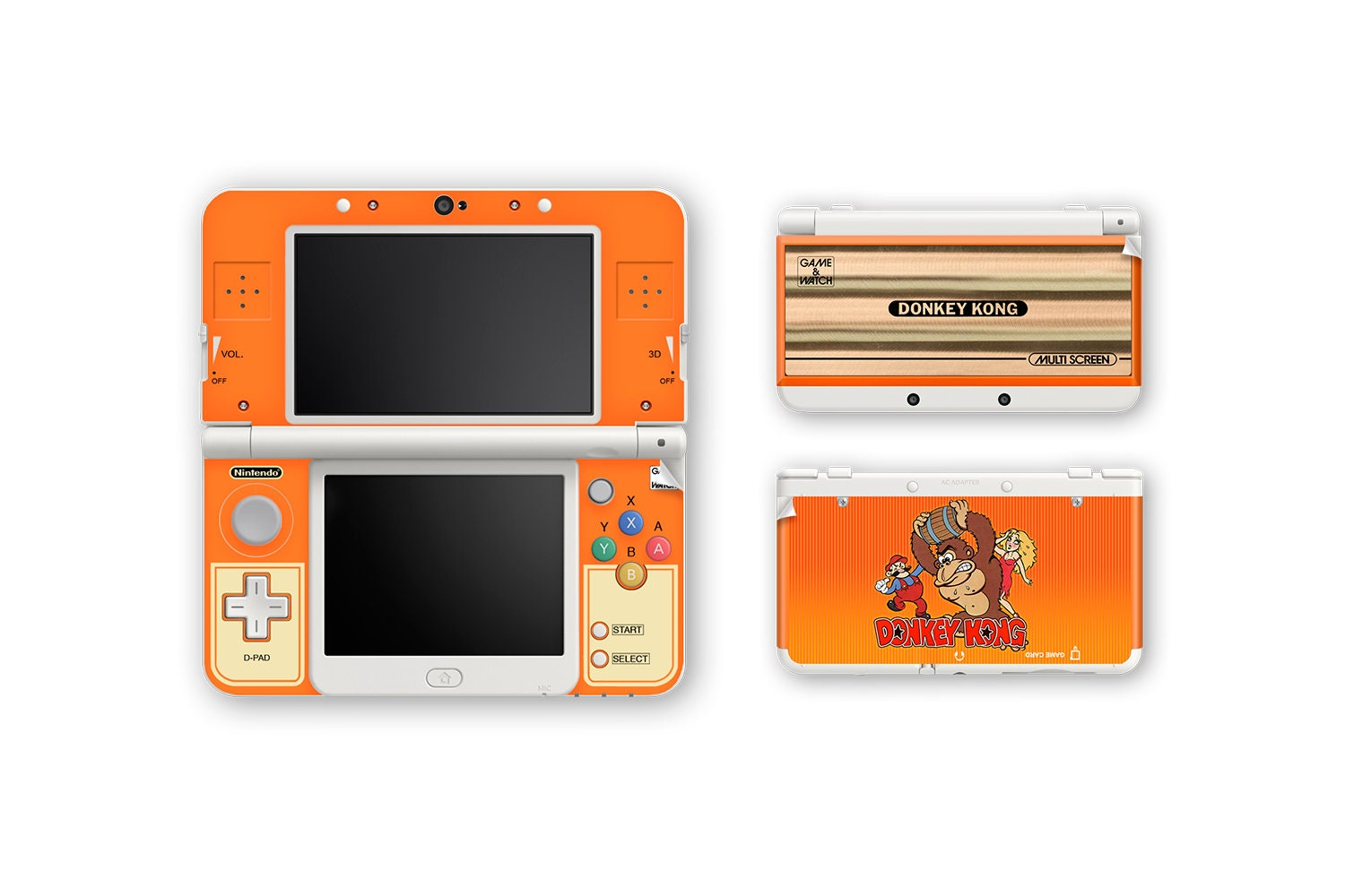 Game Watch New 3ds And New 3ds Xl Skin Etsy