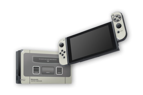 Super Famicom Nintendo Switch Skins