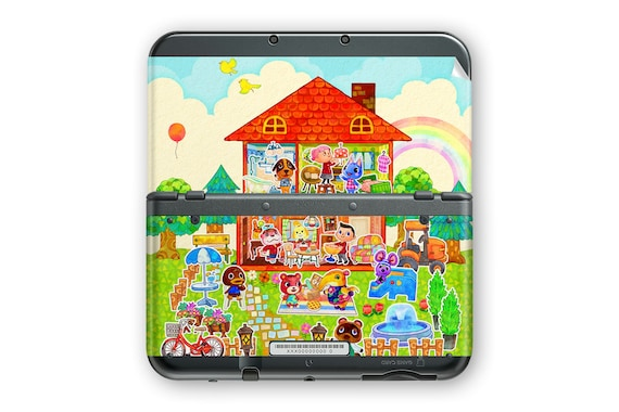Animal Crossing Home Designer New 3DS XL  Skin