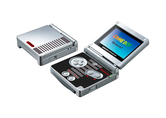 NES Game Boy Advance SP Skin