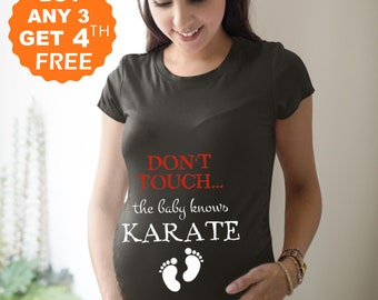 Pregnancy Shirts Maternity T-shirts Top Tunic Clothes Love Science Equals Baby