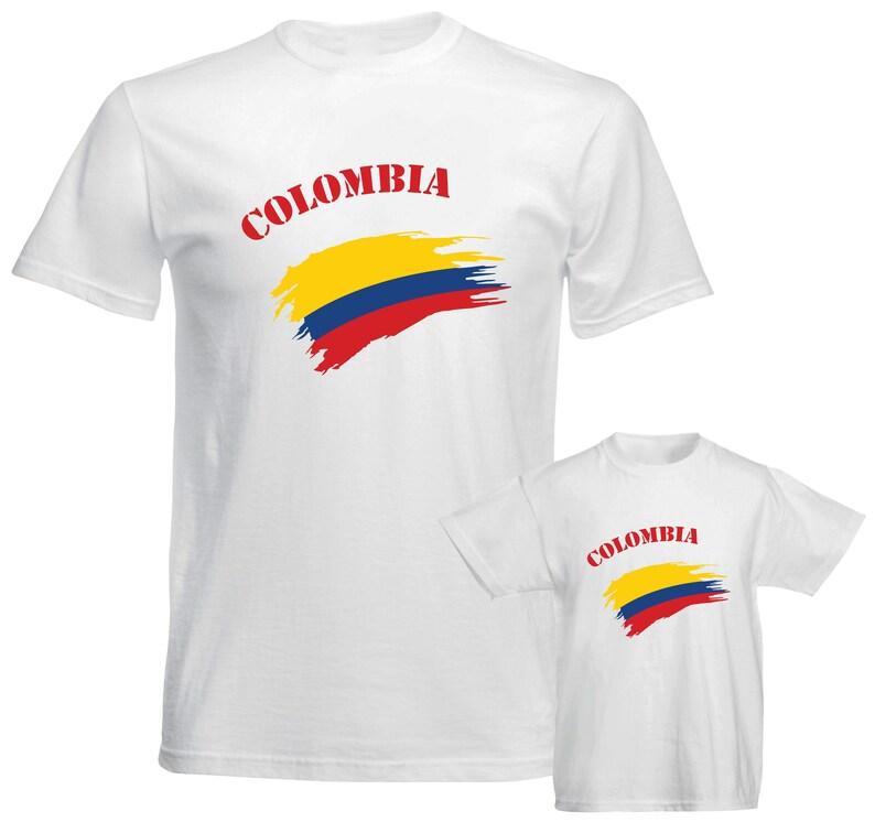e71cc2865b8 Colombia Shirt Patriotic t shirts Tourism Souvenir Shirts   Etsy