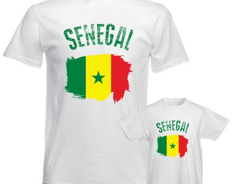 f4188c2d032 Senegal Shirt Senegal 2018 World Cup Shirt FIFA World Cup 2018 Senegal  Soccer Senegal Flag Senegal Football Fan Shirt Adult Kids Baby