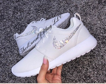 e1d1dc9e7999c0 Custom Nike Roshe Run Bling with Swarvoski Crystals !!!