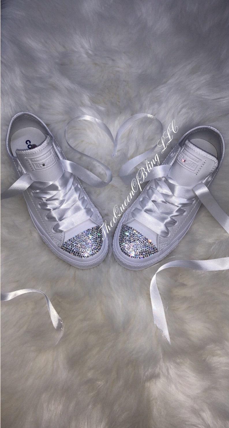 brand new 5e7ff e11a4 Wedding converse bridesmaid converse wedding shoes   Etsy