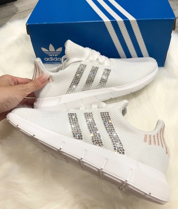 Women adidas Running Shoes [Icy BlueWhite