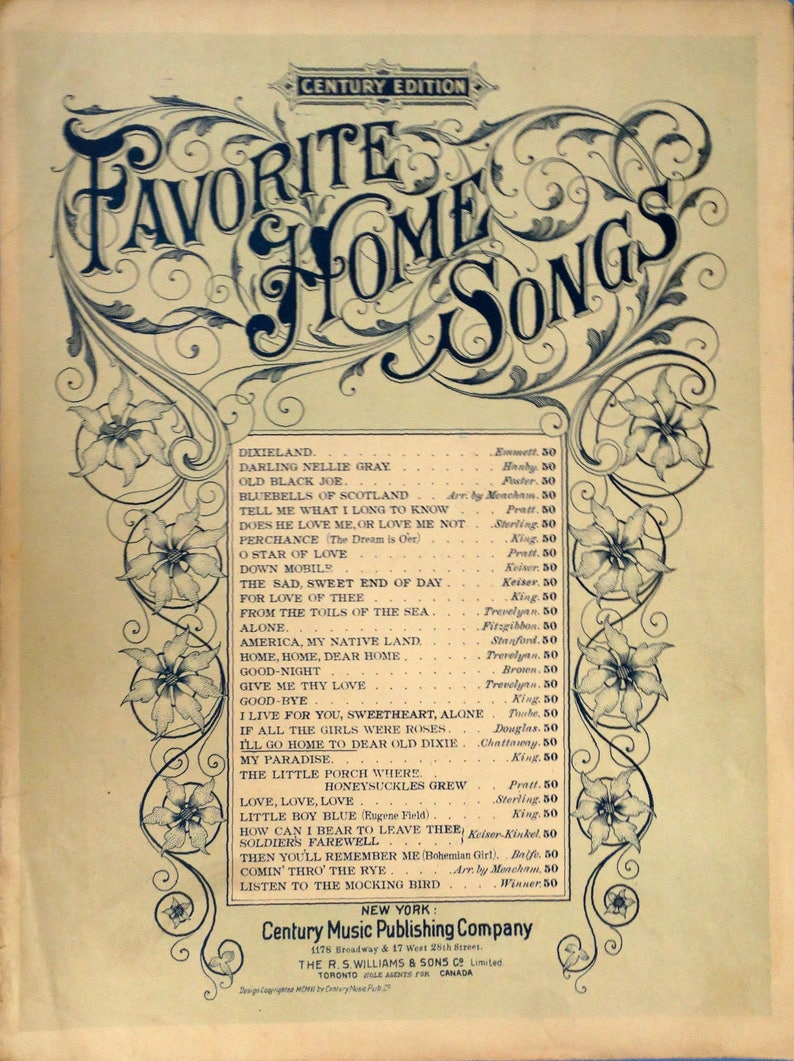I'll Go Home to Dear Old Dixie 1906 antique sheet music by image 0