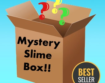 Mystery Slime box Package FREE Extras Choose Large or Small Size box  Scented Slime Cheap Slime shops Floam slime Cloud slime Cotton Candy 7159edaafb