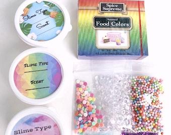 Slime kit, Design your own slime, Craft Kit Activity Stretchy, Crunchy, Clicky Instagram Popular Best Seller Slime Shop Gifts Sale BlissBalm