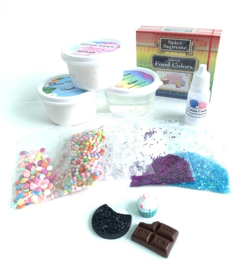 Design your own slime Craft Kit Activity Stretchy Slime kit Clicky Instagram Popular Best Seller Slime Shop Gifts Sale BlissBalm Crunchy