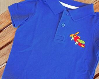 Plane Polo Shirt Etsy