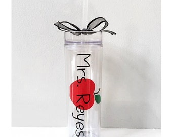Personalized teacher gift, teacher tumbler, gift for teacher, teacher gift, custom teacher gift, christmas gift, teaching gift