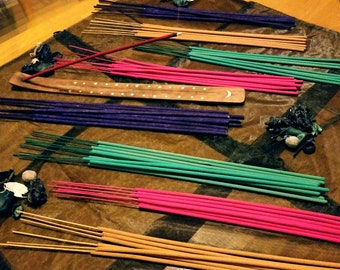 120 High Quality Oil Dipped Incense Sticks Long Burning Choose A Scent 133