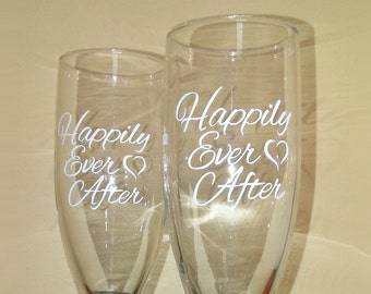 Happily Ever After set of glasses