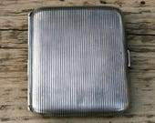 Vintage silverplated cigarette box WMF Germany