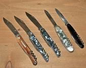 Vintage collection pocket knifes Germany