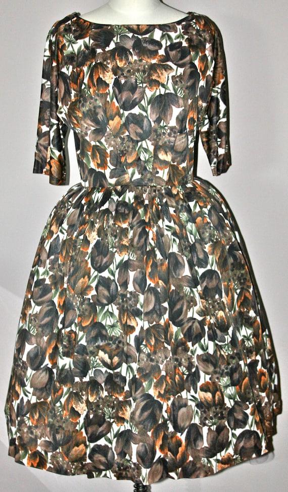 Vintage summer dress 40th