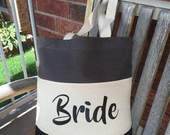 Wedding Tote Bags, Bride Tote Bags, Wedding Party Gifts, Bride gift, Wedding gift, Bride, tote bag, custom tote bag, Bachelorette Gift, tote