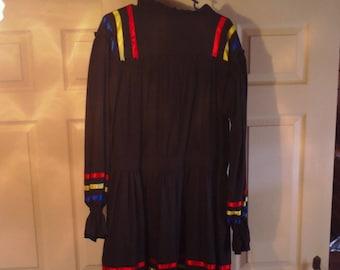 Native American Regalia --- Cherokee Tier Dress