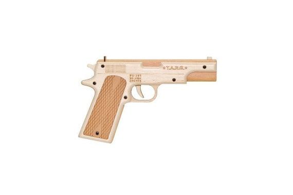 Diy Spielzeugpistole Colt 1911 Zu Bekampfen Holzmodell Etsy