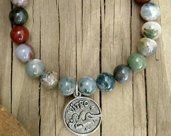 Virgo Virgin Zodiac Astrology Energy Bracelet