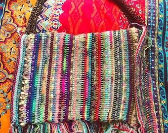 Messenger Style Carpet Bag