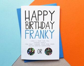 Dirty Birthday Card Etsy