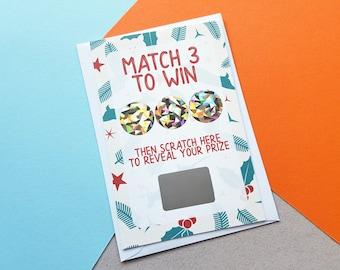 Personalised Rude Scratch Off Christmas Card Boyfriend Etsy