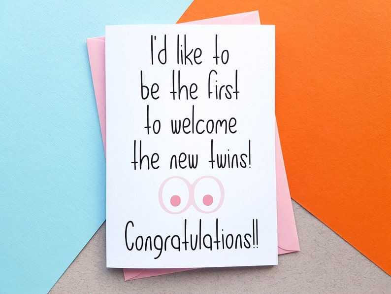 Congratulations On Your New Boobs  Congratulations Card  New image 0
