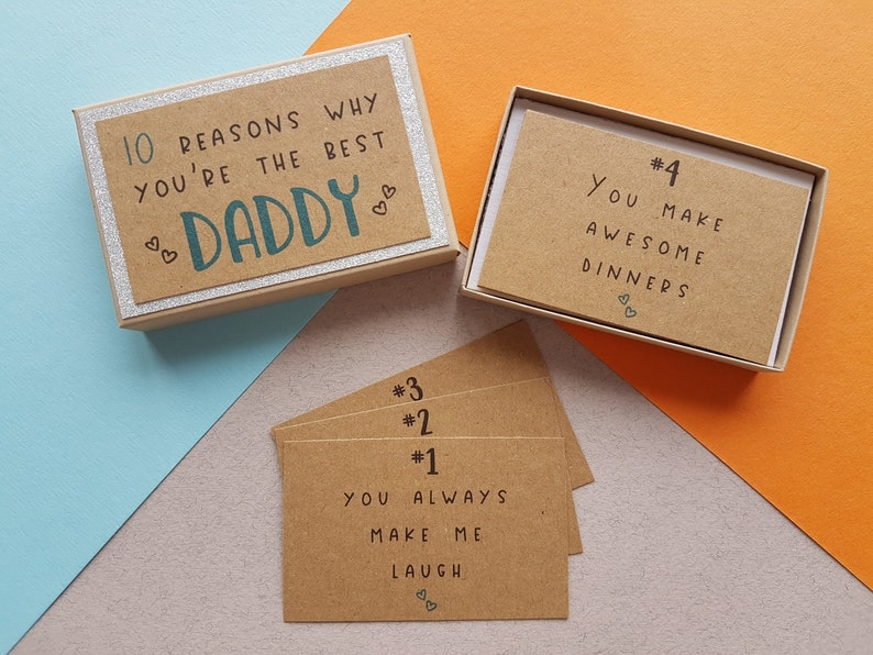 10 Things I Love About You Dad Gift Box  Father's Day image 0