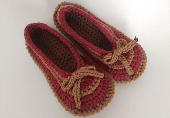 bottines pour f Crochet les cadeau Crochet Crochet chaussons chaussons au chaussures OwY8fH