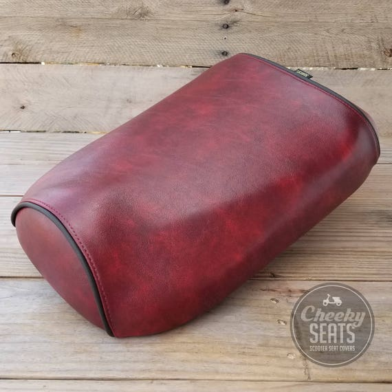 Seat Cover by Cheeky Seats fits Honda Ruckus Distressed whiskey whiskey