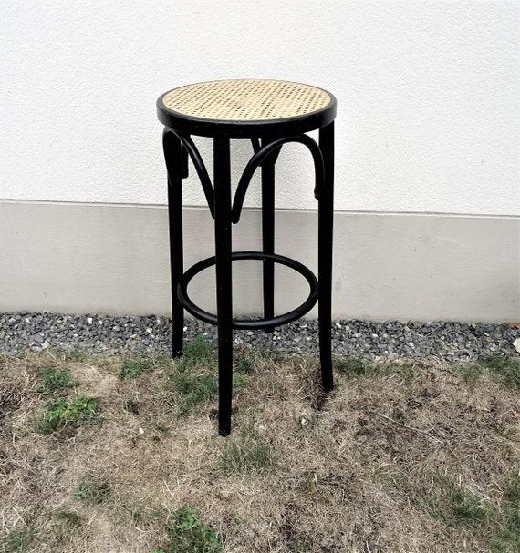 tabouret de caf bar bistrot en bois courb dans le go t de etsy. Black Bedroom Furniture Sets. Home Design Ideas