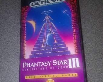 Phantasy Star III manual
