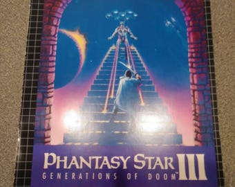 Phantasy Star III Hint Book